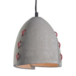 Zuo Confidence Ceiling Lamp in Concrete