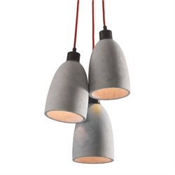 Zuo Fancy Ceiling Lamp in Concrete