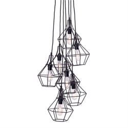 Zuo Palmerston Ceiling Lamp in Black