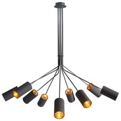Zuo Ambition Ceiling Lamp in Black
