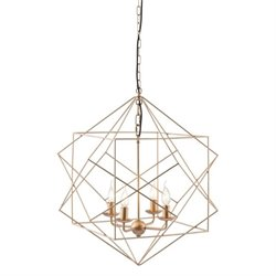 Zuo Penta Ceiling Lamp in Gold