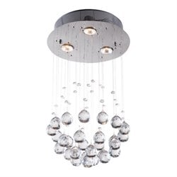 Zuo Pollow Ceiling Lamp in Clear