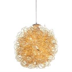 Zuo Zitto Ceiling Lamp in Gold