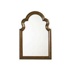 Lexington Coventry Hills Saybrook Mirror in Autumn Brown