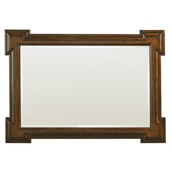 Lexington Coventry Hills Addison Mirror in Autumn Brown