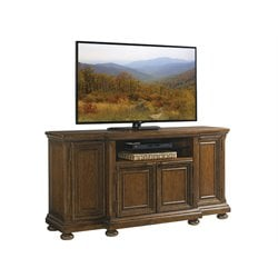 Lexington Coventry Hills Danbury TV Stand in Autumn Brown