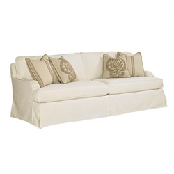 Lexington Coventry Hills Stowe Slipcover Sofa in Cream