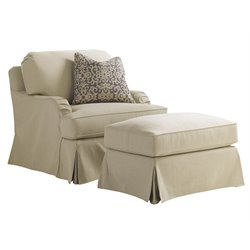 Covertry Hills Stowe Slipcover Swivel Chair