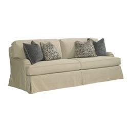 Lexington Coventry Hills Stowe Slipcover Sofa in Khaki