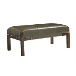 Lexington Coventry Hills Norflok Leather Bench in Kona