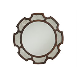 Lexington Kensington Place Del Mar Mirror in Rich Oxford Brown