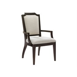 Lexington Kensington Place Candace Dining Arm Chair in Ivory