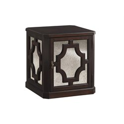 Lexington Kensington Place Benedict Square End Table in Brown