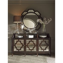 Lexington Kensington Place Wellshire Buffet with Mirror in Brown