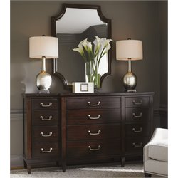 Lexington Kensington Place Baldwin 12 Drawer Dresser with Mirror