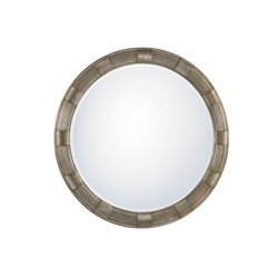 Lexington Laurel Canyon Beverly Round Mirror in Silver