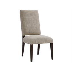 Lexington Laurel Canyon Sierra Dining Chair in Ivory and Taupe