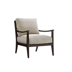 Lexington Laurel Canyon Miramar Accent Chair in Ivory