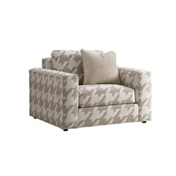 Lexington Laurel Canyon Bellvue Accent Chair in Ivory