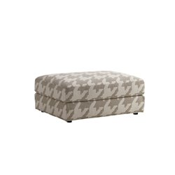 Lexington Laurel Canyon Bellvue Ottoman in Ivory