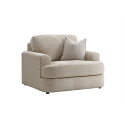 Lexington Laurel Canyon Halandale Accent Chair in Ivory