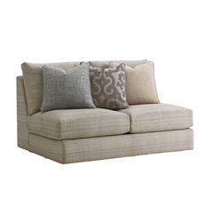 Lexington Laurel Canyon Halandale Armless Loveseat in Slate