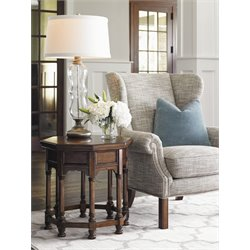 Lexington Coventry Hills Logan 2 Piece Wing Chair Set in Oakhurst