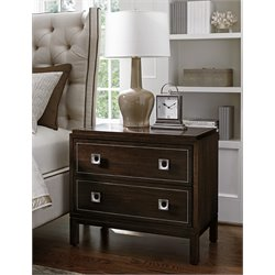 Lexington MacArthur Park Weyburn 2 Drawer Nightstand in Mocha Brown