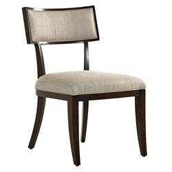 Lexington MacArthur Park Whittier Dining Side Chair in Brown and Wheat