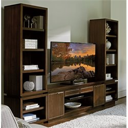 Lexington MacArthur Park Royce 6 Shelf Bookcase in Brown