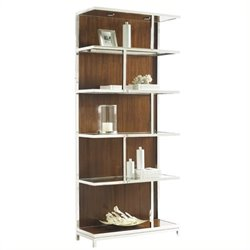 Lexington Mirage Kelly Bookcase in Cashmere Finish