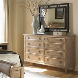 Lexington Monterey Sands Hollister 8 Drawer Dresser and Mirror Set