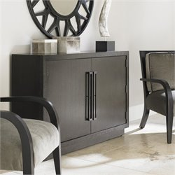 Lexington Carrera Sergio 2 Door Woof Hall Chest in Carbon Gray