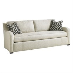 Lexington Carrera Fontana Fabric Sofa in White