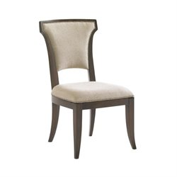 Lexington Tower Place Seneca Upholstered Side Chair in Rose Gold