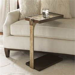 Lexington Tower Place Orland Wood Chairside Table in Brown