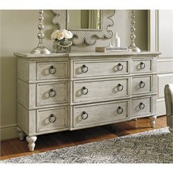 Lexington Oyster Bay Barrett 9 Drawer Triple Dresser in Oyster