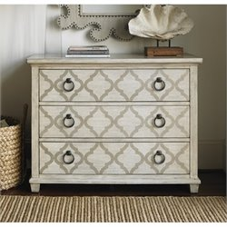 Lexington Oyster Bay Brookhaven 3 Drawer Accent Chest in Oyster