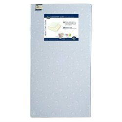 Serta Nightstar Glow Crib and Toddler Mattress in Blue