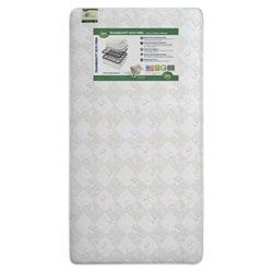 Serta Tranquility Eco Firm Crib Mattress in Tan