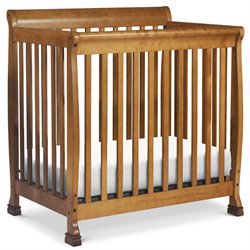 Da Vinci Kalani 2 in 1 Mini Crib and Twin Bed in Chestnut