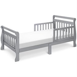 DaVinci Sleigh Toddler Bed in Gray