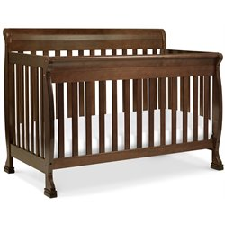 Kalani 4-in-1 Convertible Wood Baby Crib with Toddler Rail