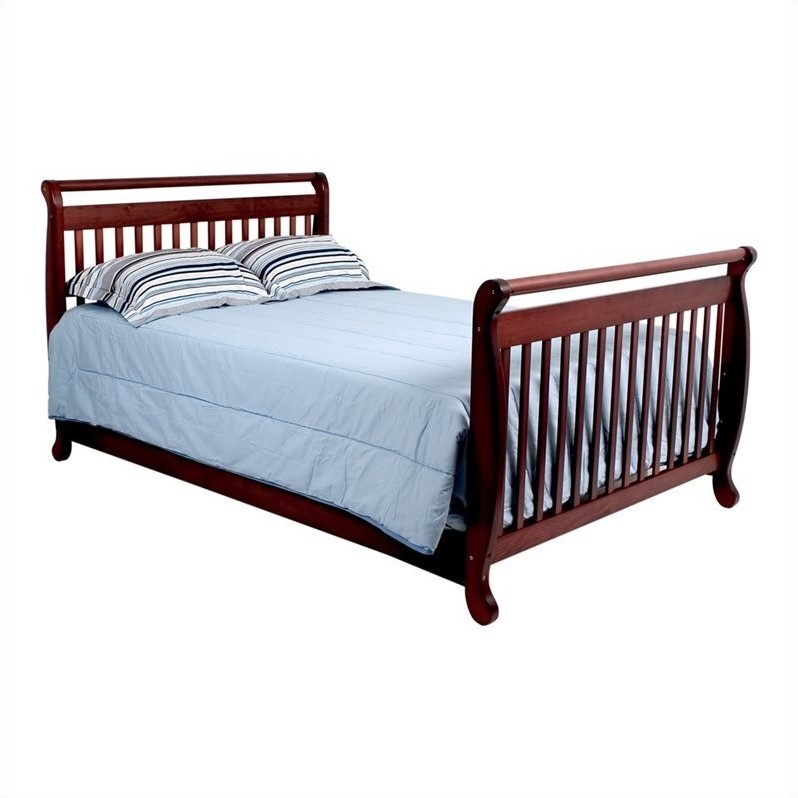 Rock N Roll Baby Crib Set Of Davinci Emily 4 In 1 Convertible Crib With Full Bed Rails