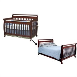 Emily 4-in-1 Convertible Crib with Full Bed Rails