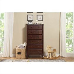 Jayden 6 Drawer Tall Dresser