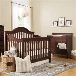 Jayden Crib and Changer Set