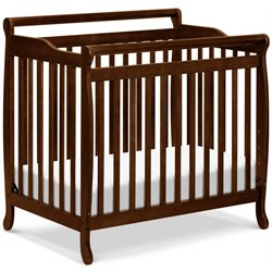 Emily Mini 2-in-1 Convertible Wood Baby Crib