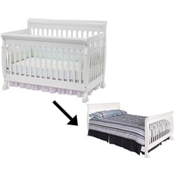 DaVinci Kalani Kids Bed in White