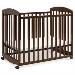 Alpha Mini Rocking Mobile Wood Baby Crib